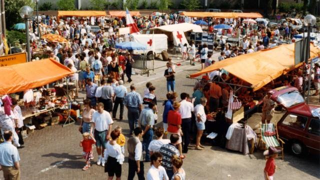 De vrijmarkt in 1993, Maurickplein